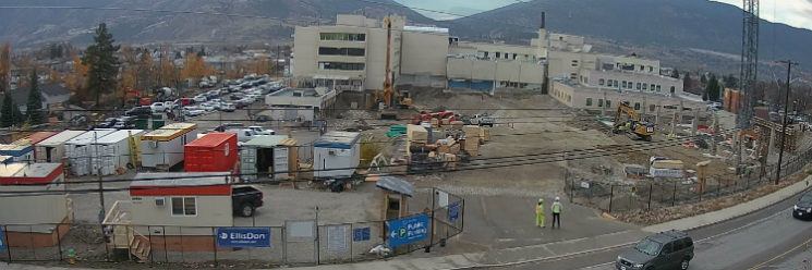 Greyback Construction of Penticton secures major contract at Penticton Regional Hospital Tower.